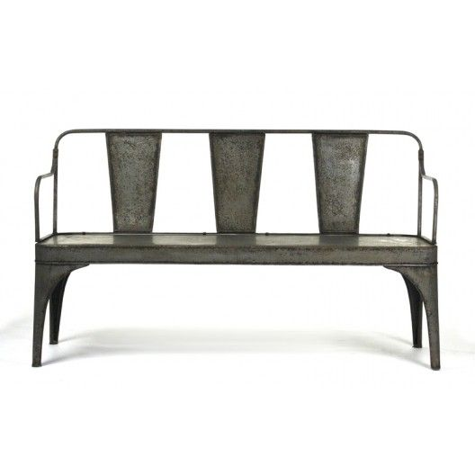 Metal Bench Shed The Eclectic Home Find The Knockoff Version With Images Bench Decor Furniture French Style Bench Seat