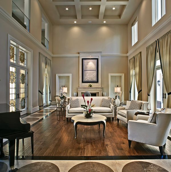 The 40 Luxury Musthaves The Best Of Today's Highend Homes Cool Large Living Room Design Decorating Design