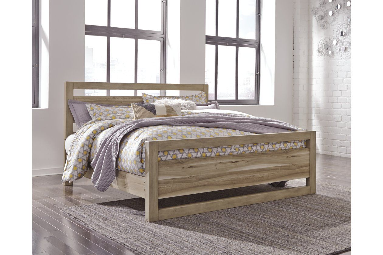 Kianni Queen Panel Bed Ashley Furniture HomeStore