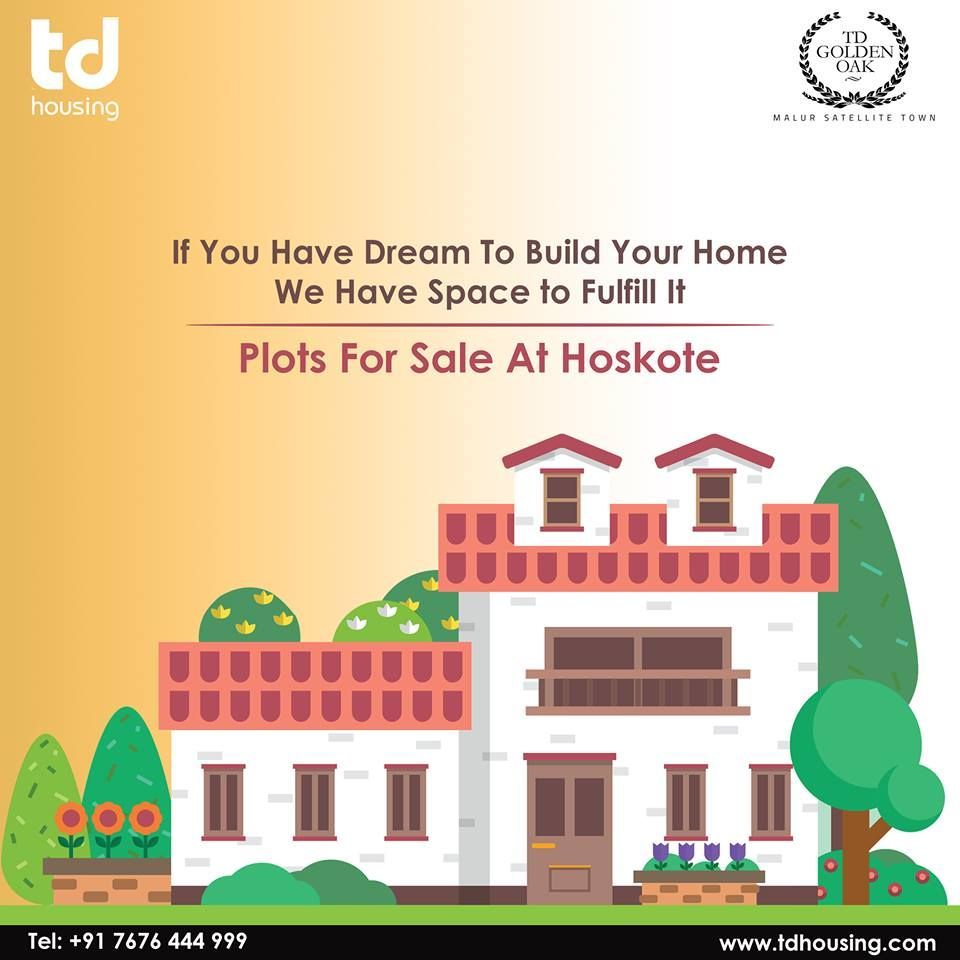 If You Have Dream To Build Your Home We Have Space to