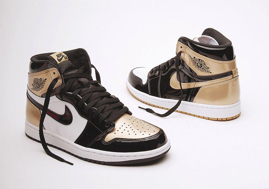 Air Jordan 1 Gold Top 3 Patent Leather With Images Air Jordans