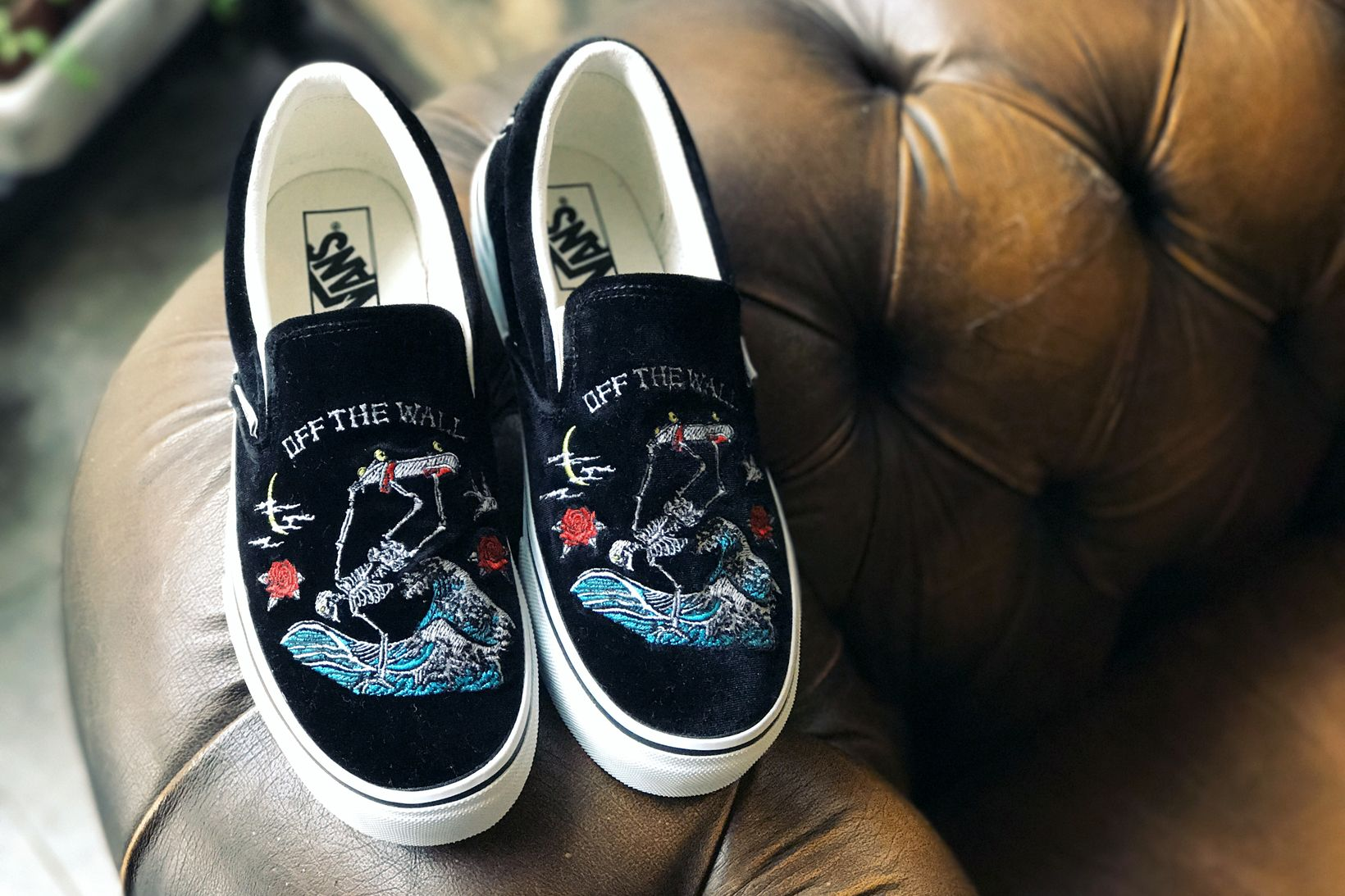 6321b26768296d Vans Taiwan Unveils a Slip-On With Intricate Skull Embroidery ...