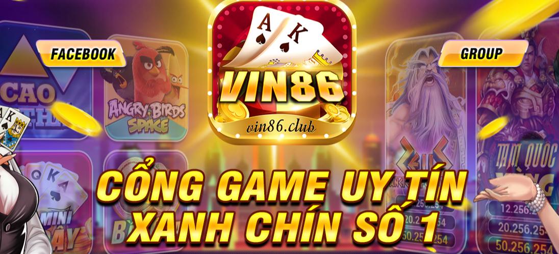 Vin86 club và những siêu phẩm giải trí đa dạng nhất hiện nay