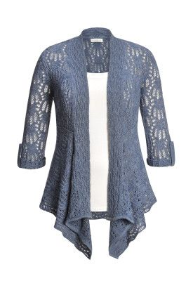 2bf05cc62cf Pointelle Cascade Cardigan   Christopher and Banks I love it