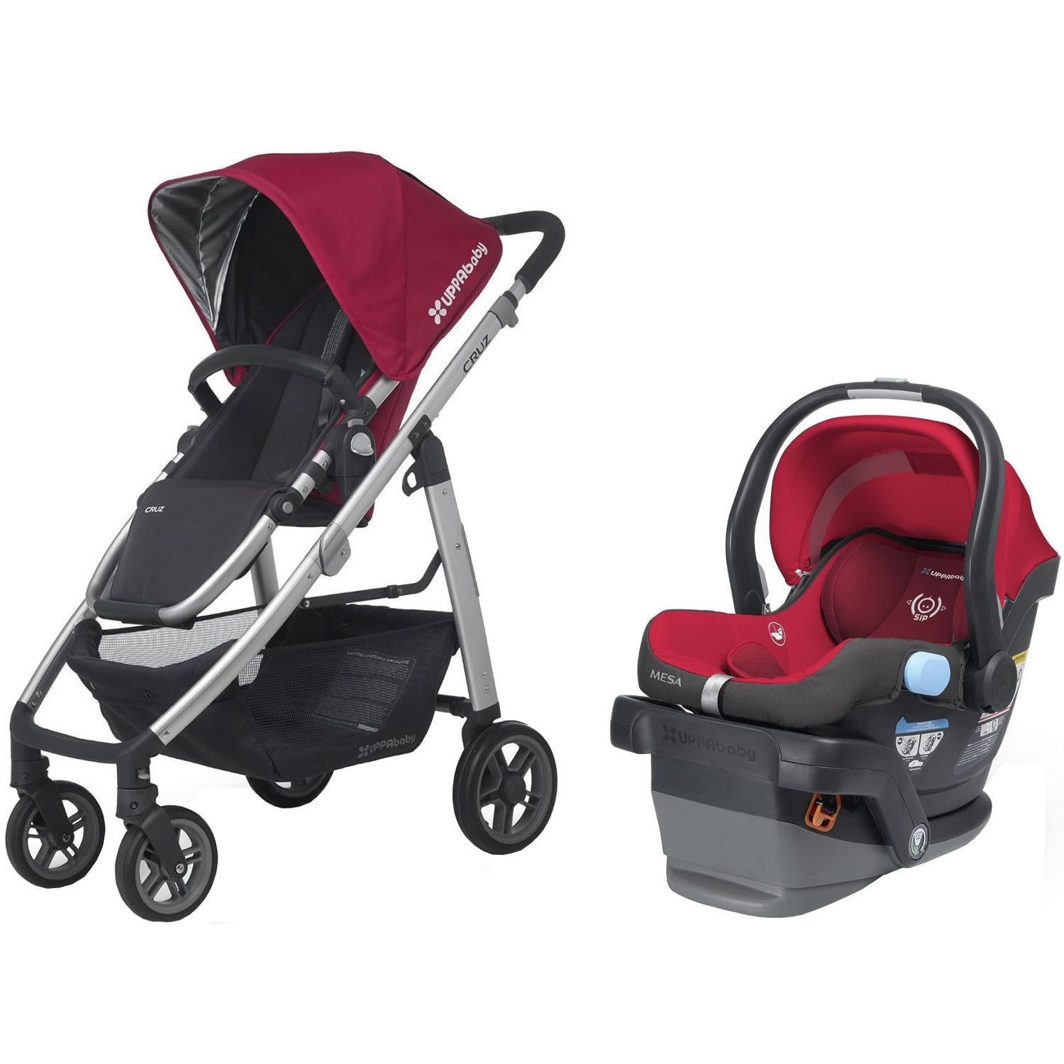 UPPAbaby 2015 Cruz Stroller With Mesa Infant Car Seat
