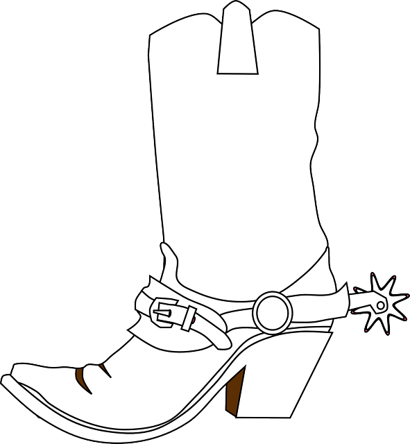 Free Image On Pixabay Cowboy Boots Spurs Boots Cowboy Boots Drawing Boot Clips Cowboy Boot Tattoo