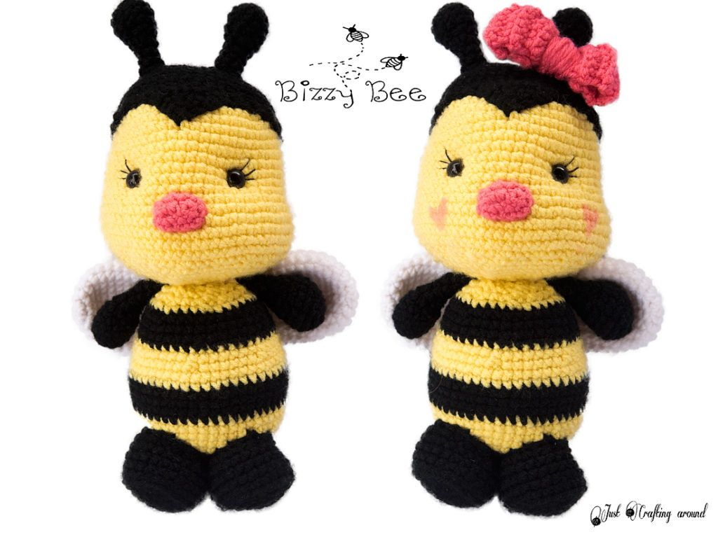 Bizzy Bee Crochet Pattern Just Crafting Around Crochet Bees
