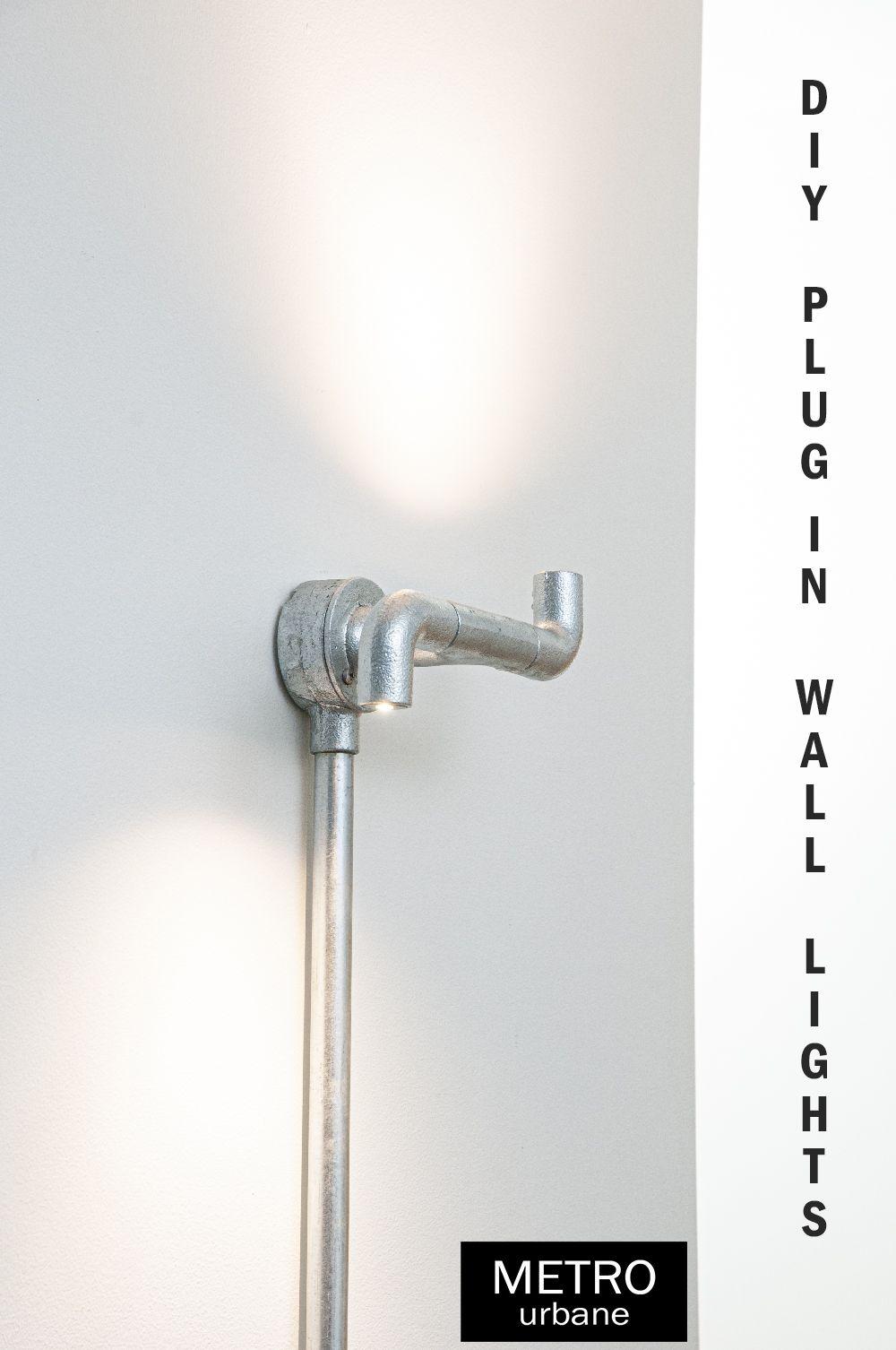 CONDUIT Plug in lighting Bi-Elbow Practical DIY lighting