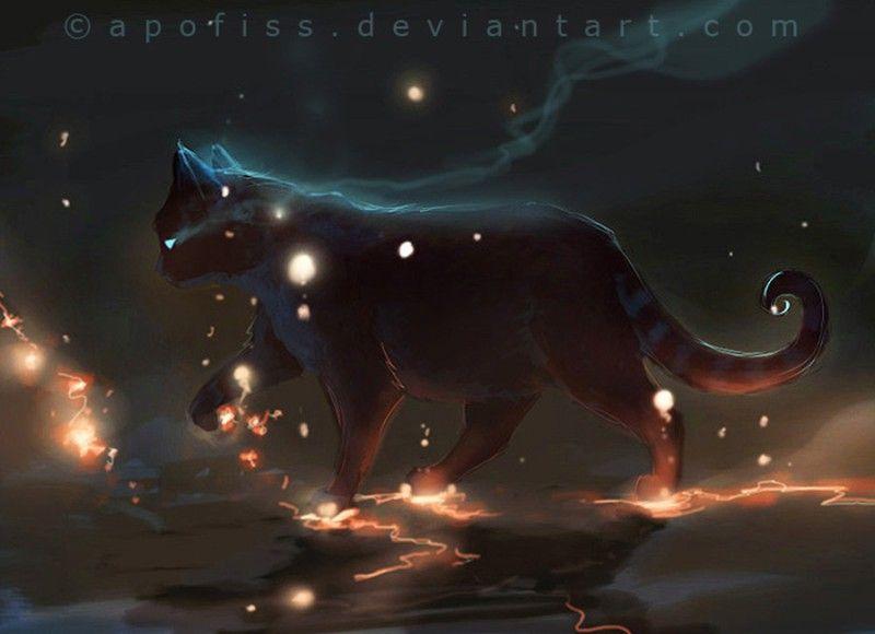 Pabu The Lonely Spirit Lost Star Odyssey Cat Art Art Cute Art