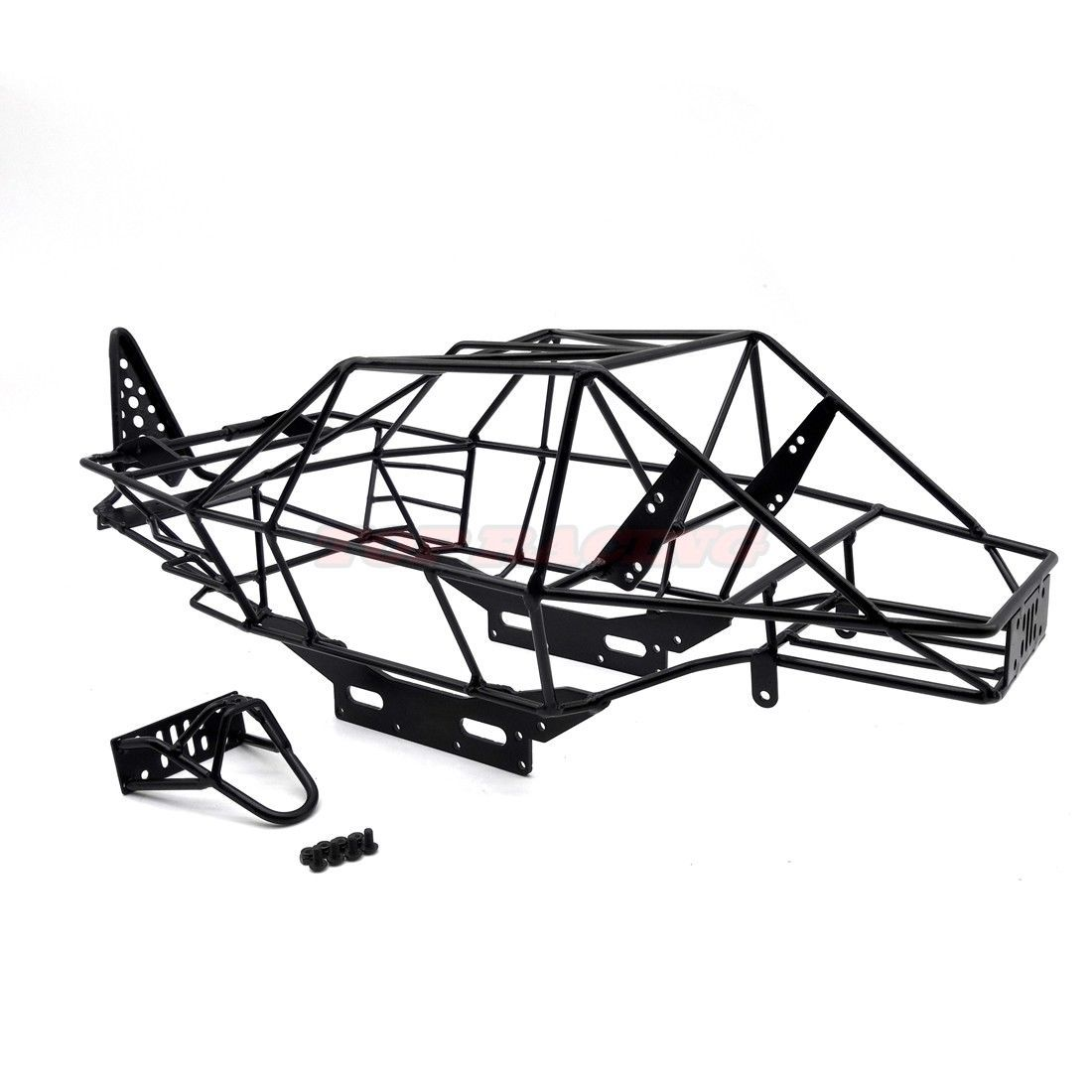 Rc 1 10 Scale Axial Wraith Rr10 Bomber Full Metal Frame Body Roll Cage Black Roll Cage Metal Frame 1 10 Scale