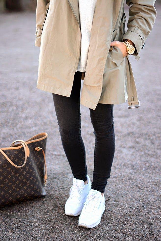 3 Ways to Style Sneakers This Season (mit Bildern)   Reebok