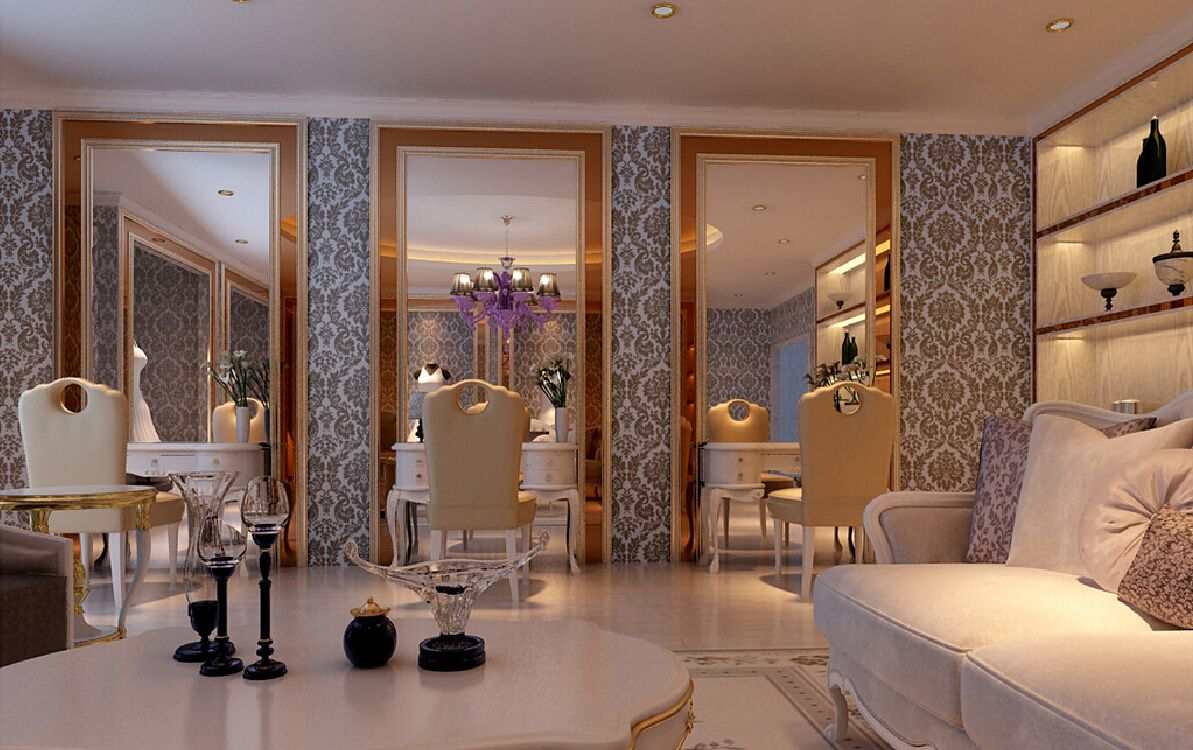 high-end hair salon interior design