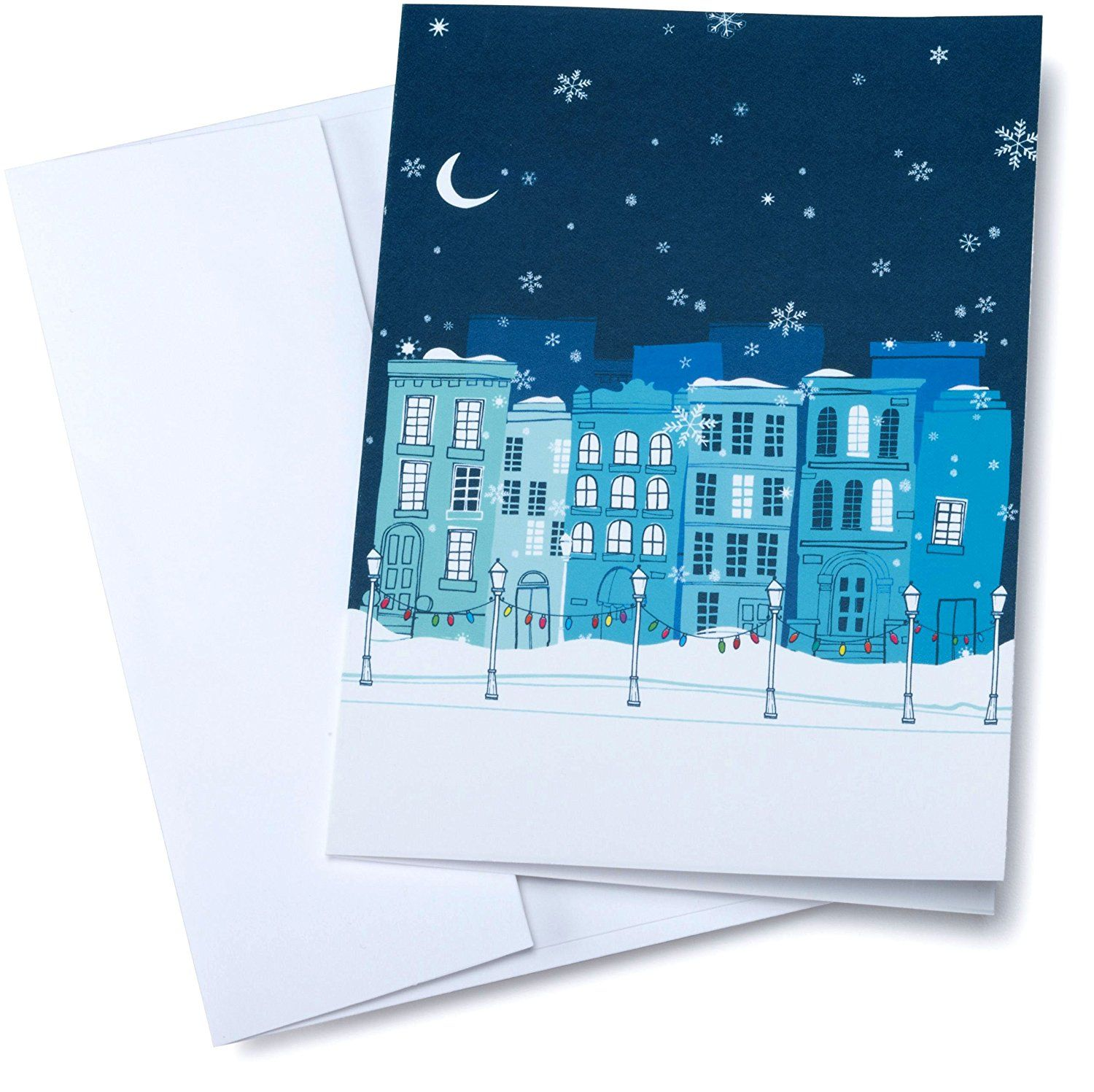 30 gift card in a greeting card winter design