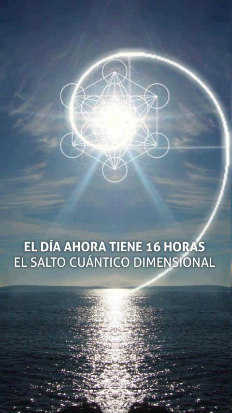 Cuarta dimensión, cambio planetario y Urantia: Porque el día se ...