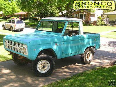 Jeff S Bronco Graveyard Reader S Ride 3150 1967 Ford Bronco