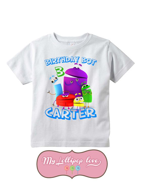 StoryBots Birthday Shirt 2nd Parties 1st Birthdays Shirts