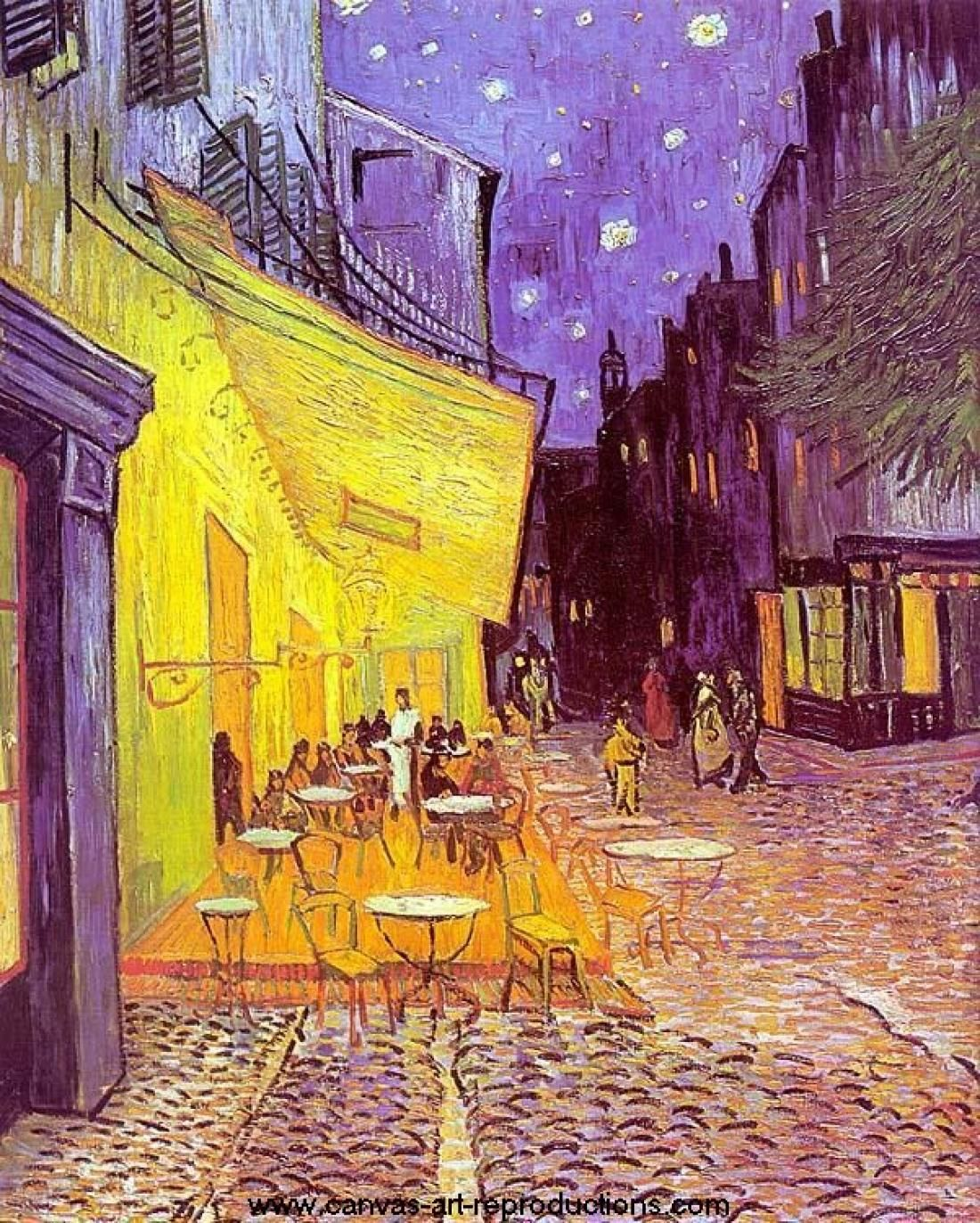 Vincent van Gogh - Cafe Terrace at Night, 1888