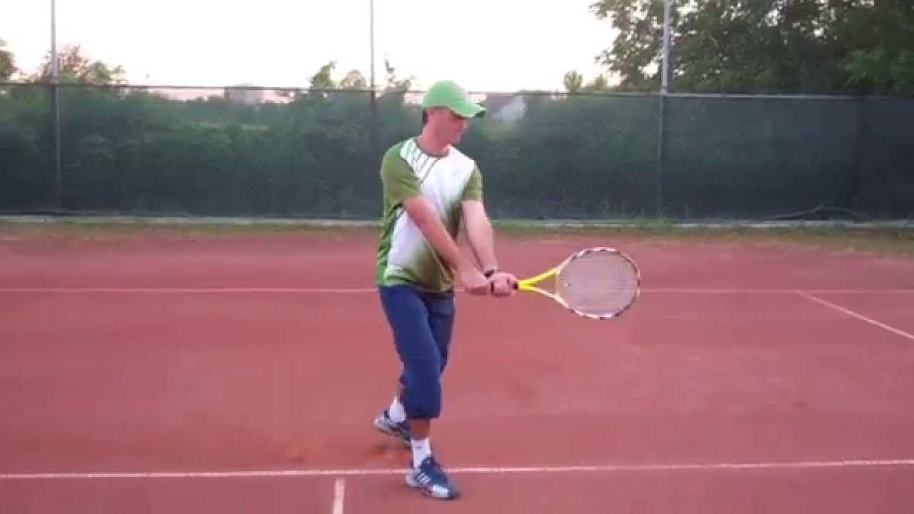 Learn How To Hit A Two Handed Backhand Technique Footwork Progression Drills The Easiest Way To Learn Tennis Ten Tennis Workout Tennis Drills Play Tennis