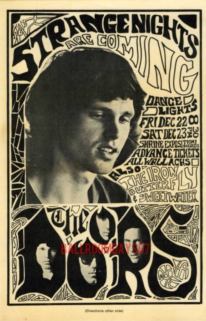 The Doors | Musik is my Life in 2019 | Rock posters, Vintage