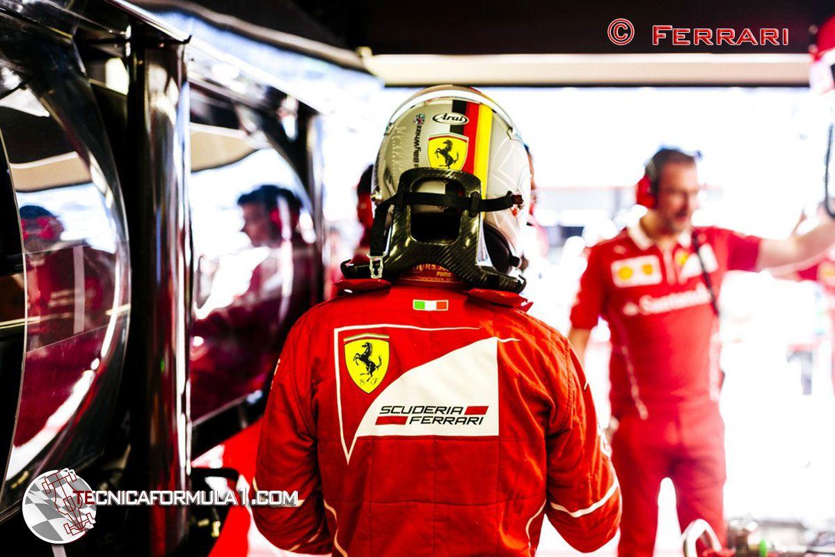 """Vettel a un periodista italiano """"Debería darte vergüenza"""