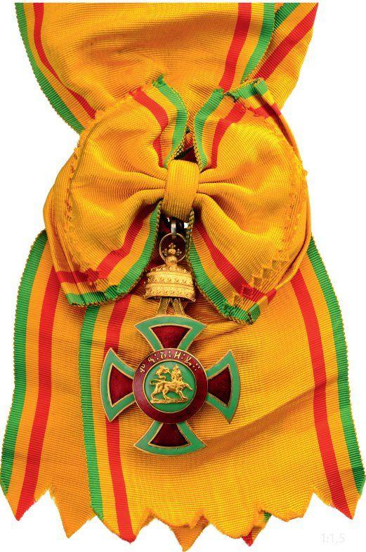 ORDER OF MENELIK II (ORDER OF THE LION OF JUDAH) : Lot 221
