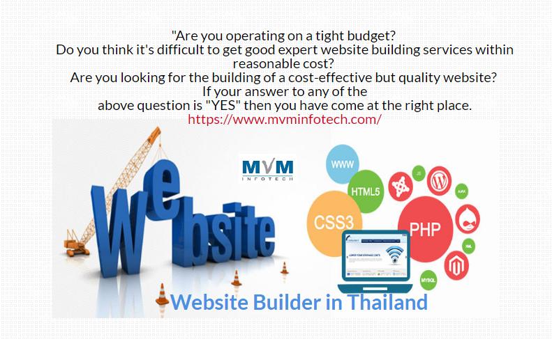 Mvm Infotech Is Best Website Development Company In Thailand We Offer You Web Development Tha Web Design Online Marketing Services Website Development Company