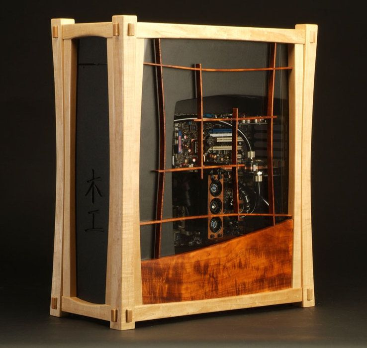 Explore Custom Pc, Custom Wood, And More! Yuugou Computer Case ...