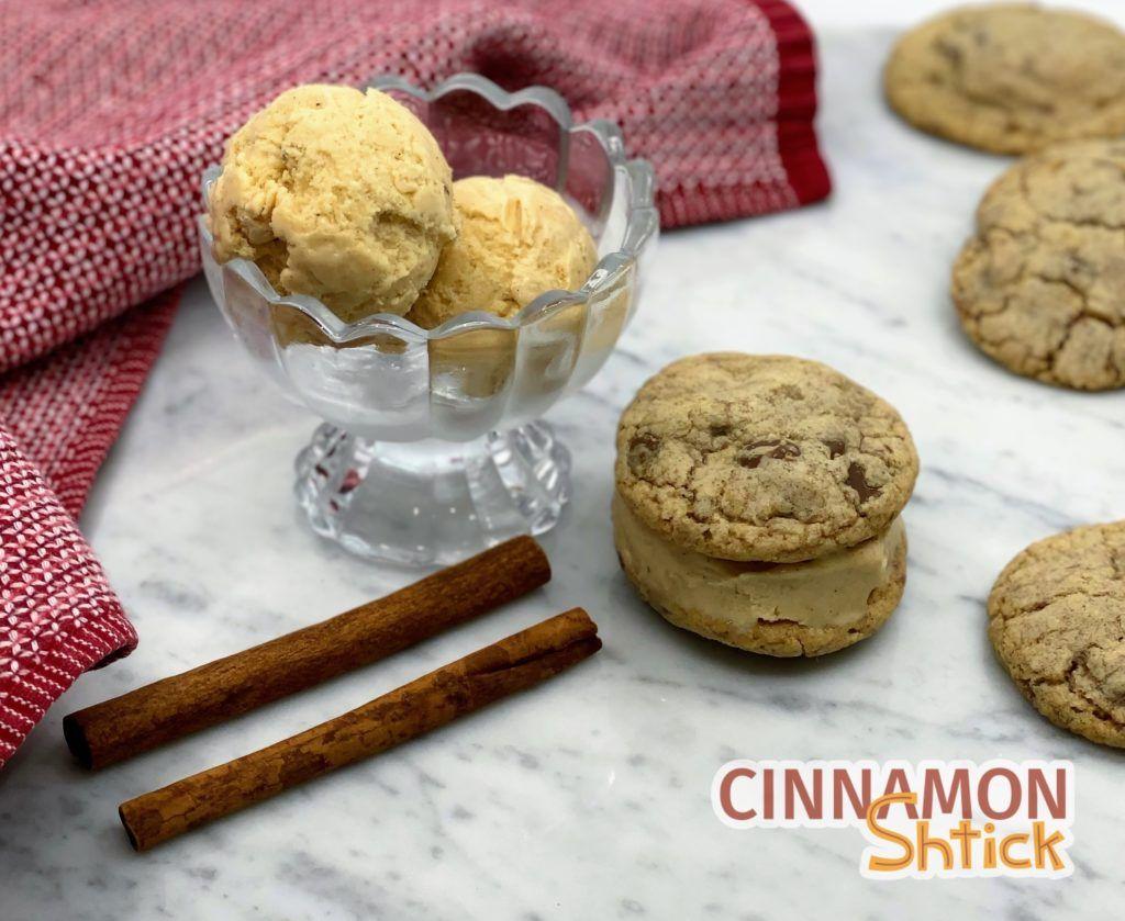 Cinnamon Stick Ice Cream - Cinnamon Shtick