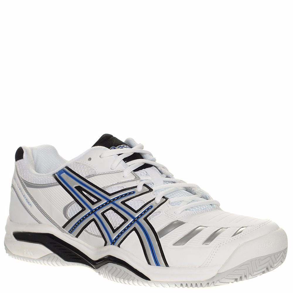 pas cher pour réduction e9c70 72db4 OZSALE | Asics Mens Gel Challenger 9 Clay Sneakers White ...