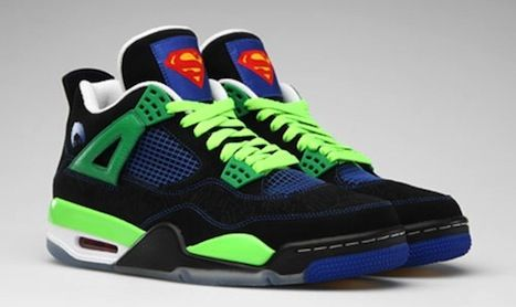 Air Jordan IV  Superman  Sneakers  Kicks  c657693a8