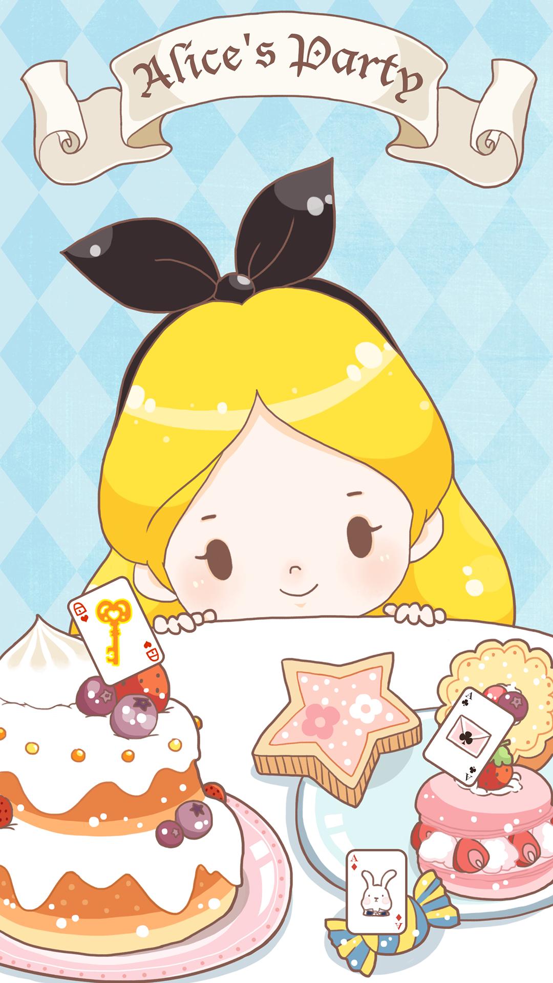 Alice In Wonderland Adventure Delicious Cakes And Candies