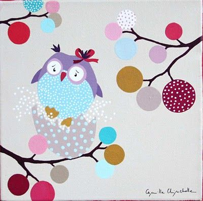 Camille Chincholle illustratrice faire-part de naissance: tableau | Tableau chambre enfant ...