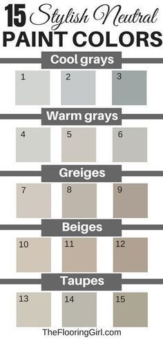 15 Stylish Neutral Paint Colors That Work In Almost Every Room images