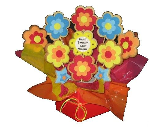 Cookie Bouquet Great Gifts Pinterest Cookie bouquet Cookie