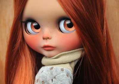 OOAK Custom Blythe Doll - ISABELLA - Customized by Zuzana D. | eBay