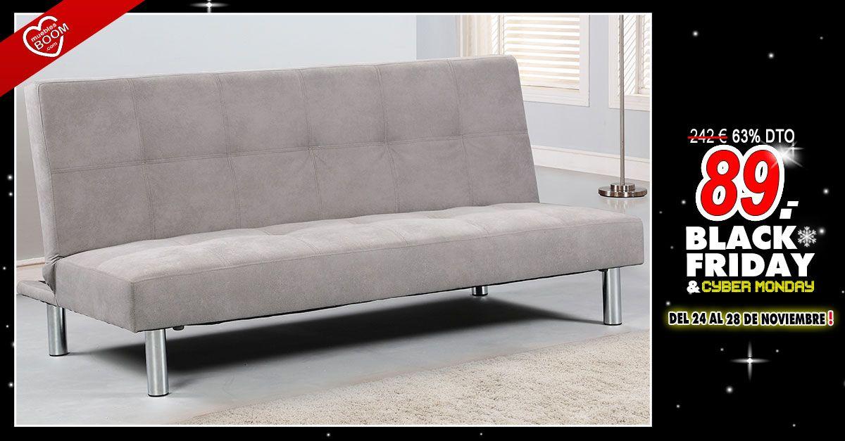 oferta black friday sof cama clic clac color marengo por s lo 89 oferta v black. Black Bedroom Furniture Sets. Home Design Ideas