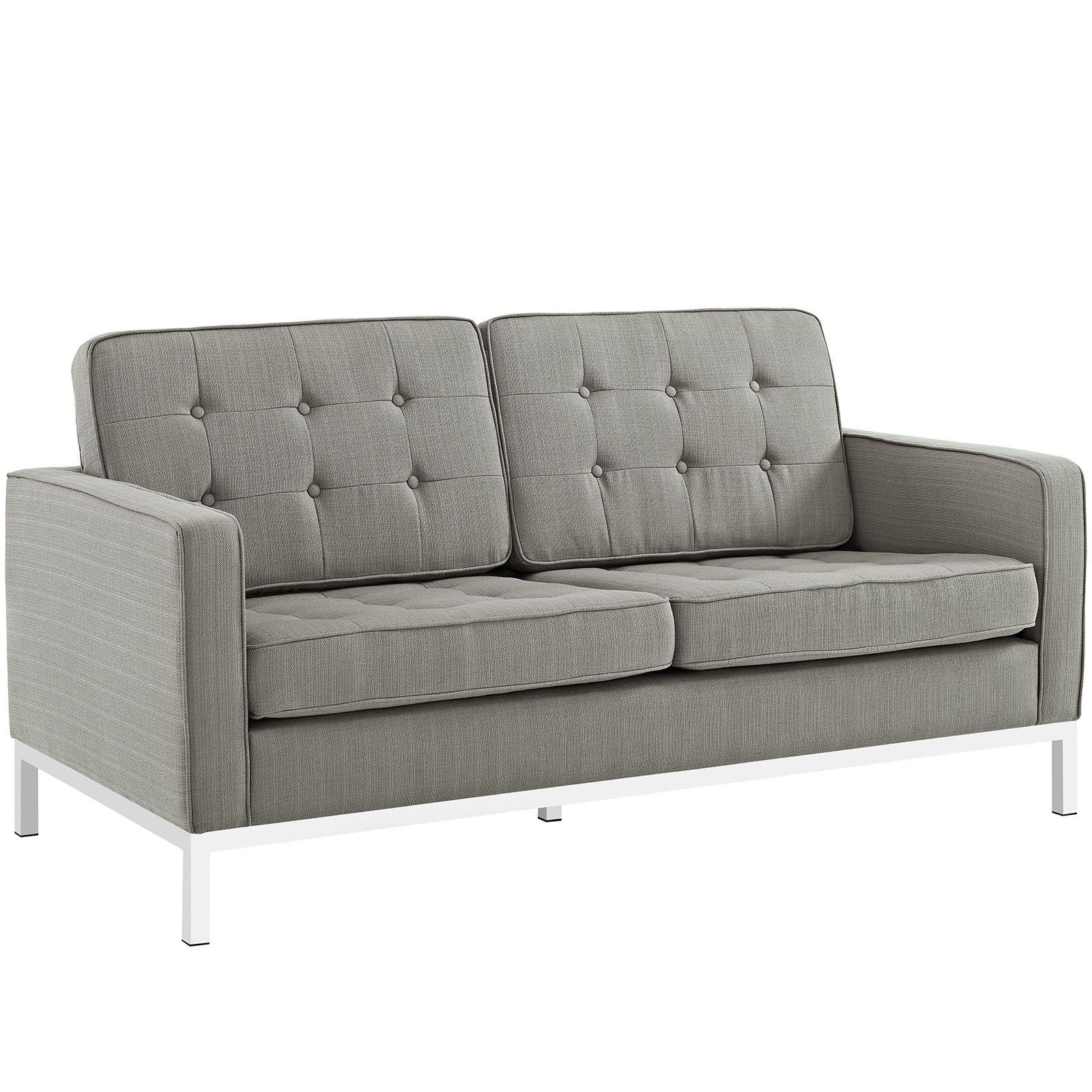 Loft Fabric Loveseat
