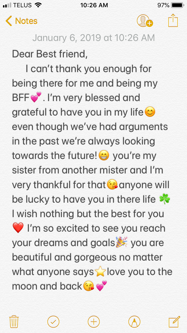 To My Bff Bff Quotes Birthday Quotes For Best Friend