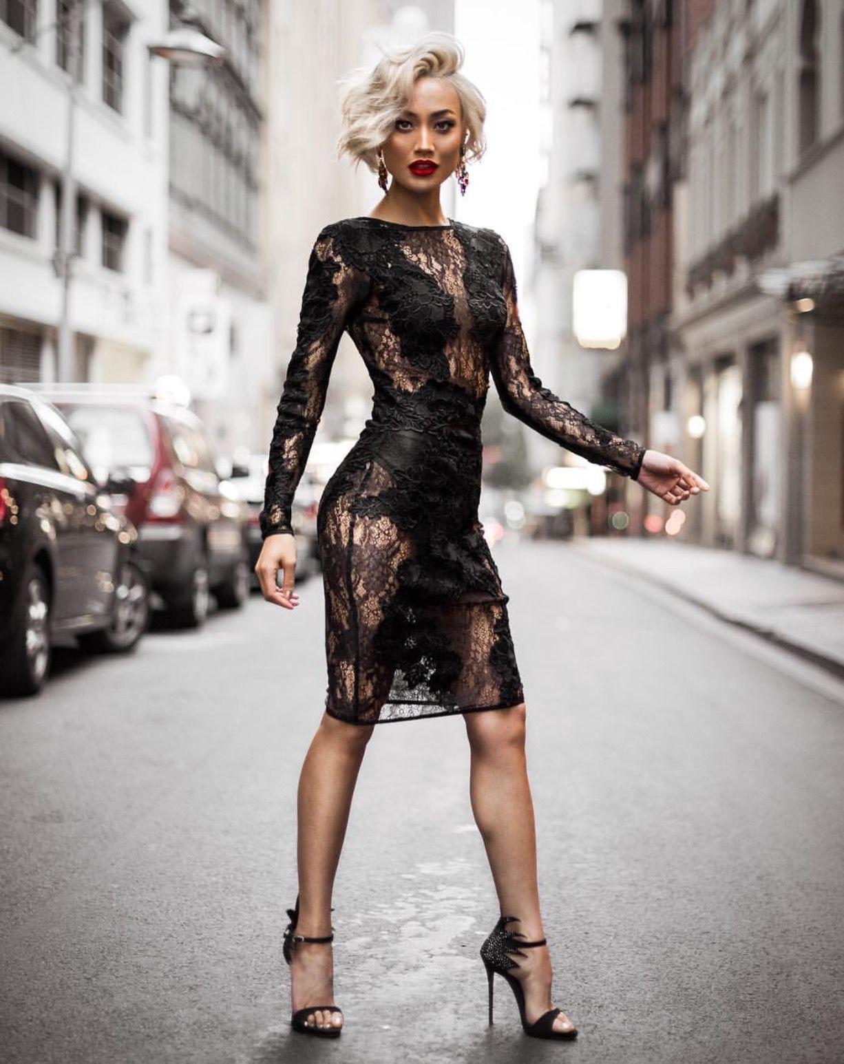 Sexy Women Lingerie Latex Leather Wet Look Short Mini Dress