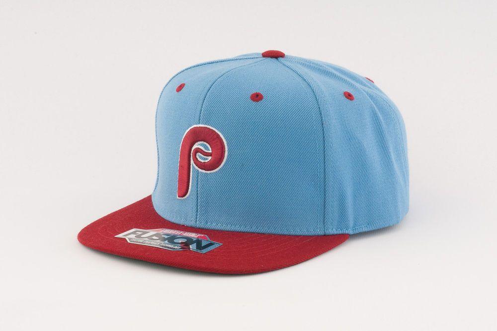 df207781cde Philadelphia  Phillies American Needle Back 2 Front Hat  MLB Flat Bill  Snapback from  25.99