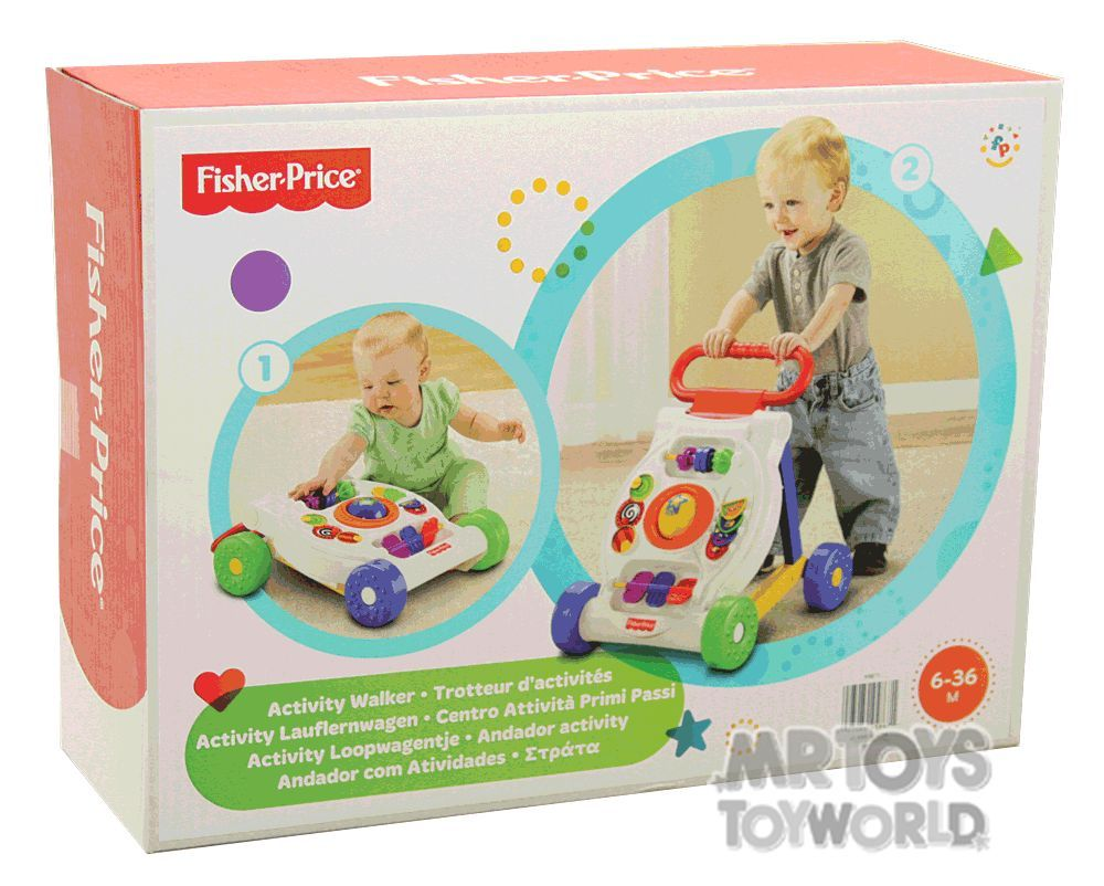 Fisher Price Brilliant Basics Activity Walker | Mr Toys Toyworld Online Australia