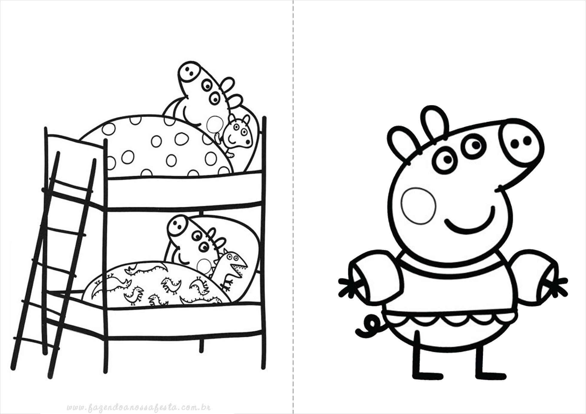 Resultado De Imagem Para Para Colorir Peppa Com Imagens Peppa Pig Para Colorir Brinquedo Da Peppa Peppa Pig