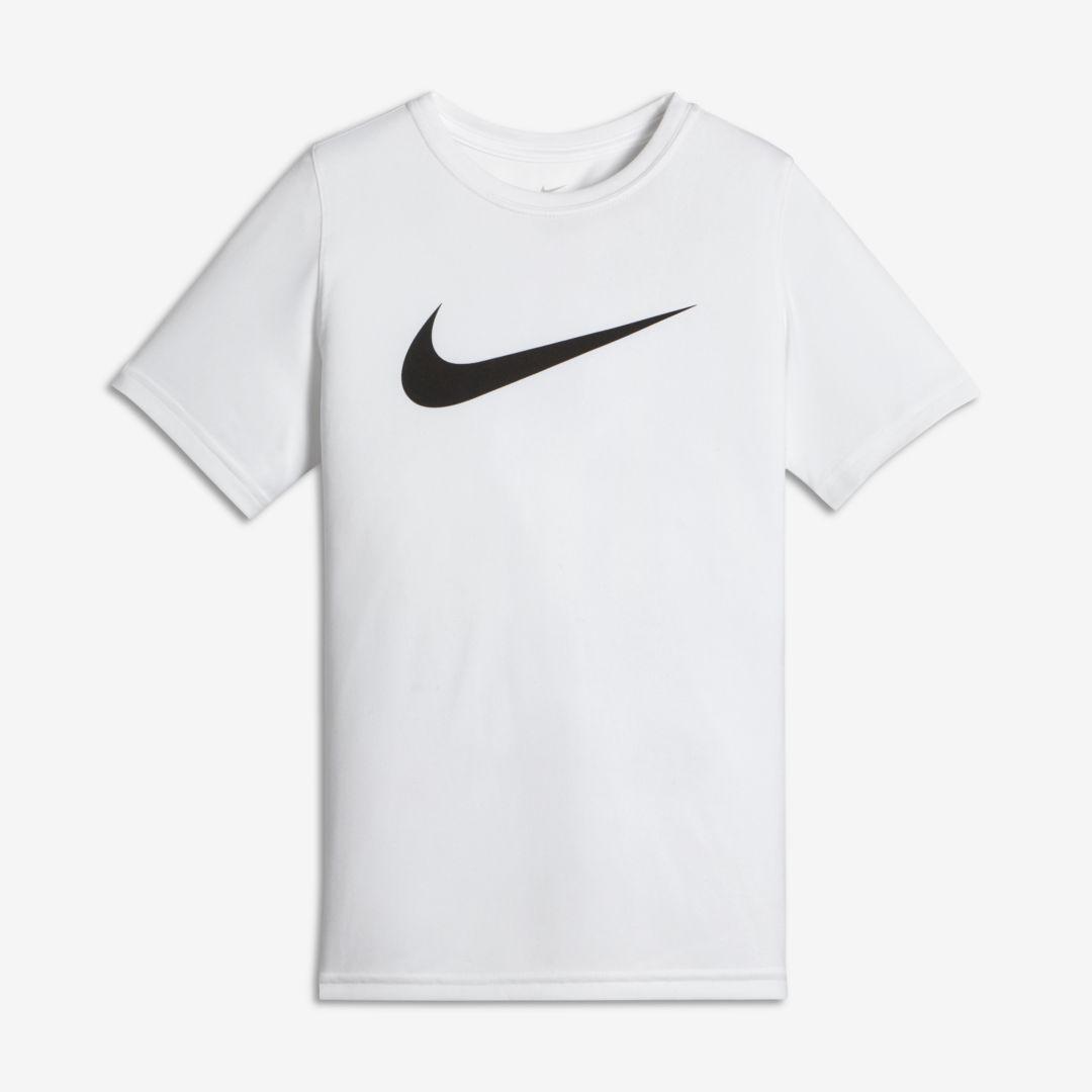771bc0c781 Dri-FIT Big Kids' (Boys') Training T-Shirt | Products | Black nike ...