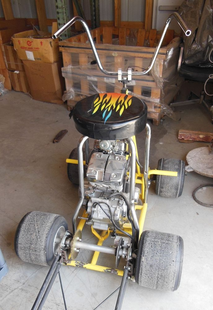 Barstool Racer Incomplete Motor Projects Diy Go Kart