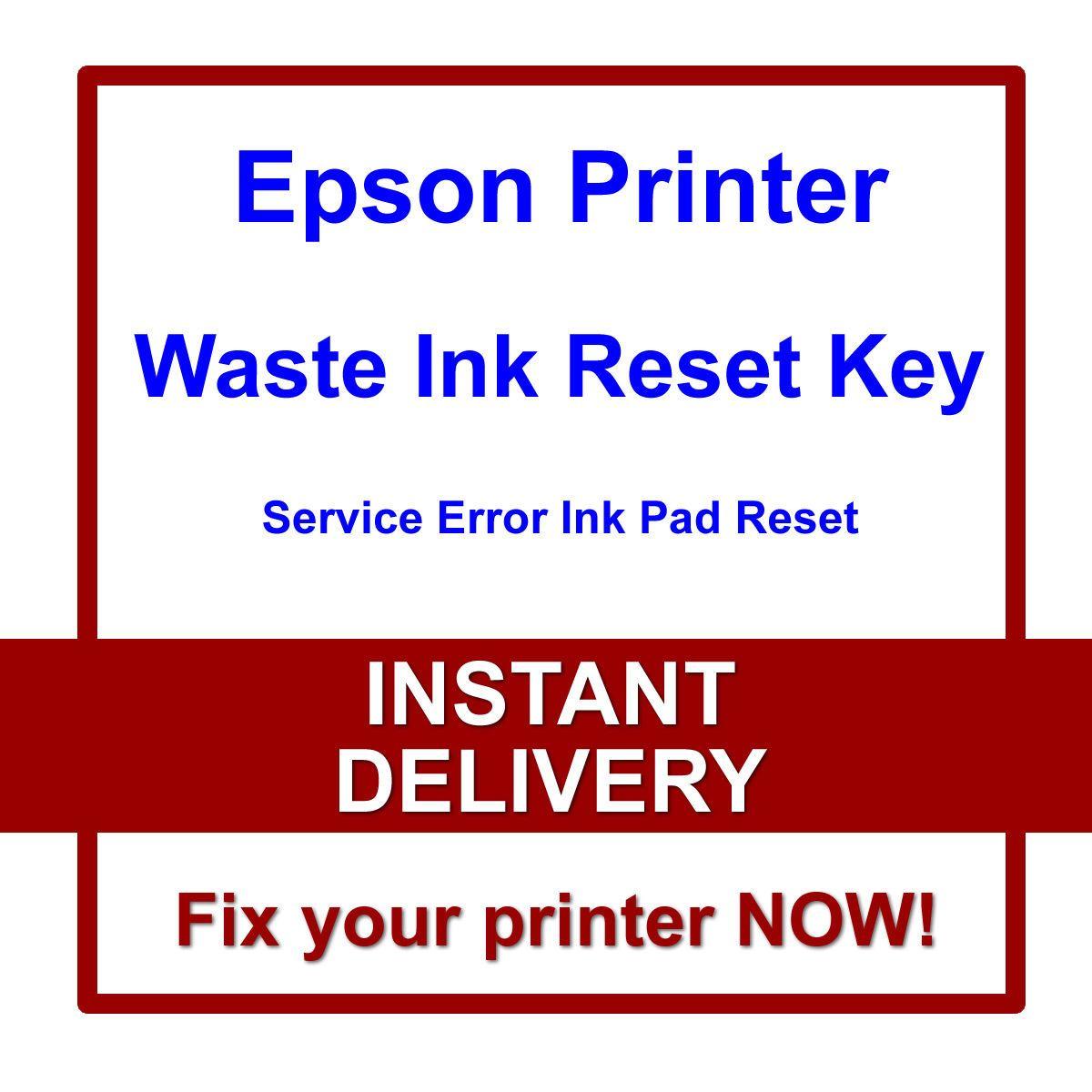 $9 99 - Epson Ecotank Et-2550 Et-4500 Printer Reset Waste