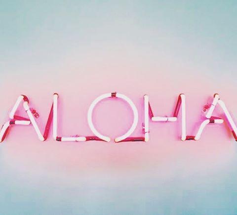 You had me at Aloha Macbook wallpaper, Neon signs, Mac