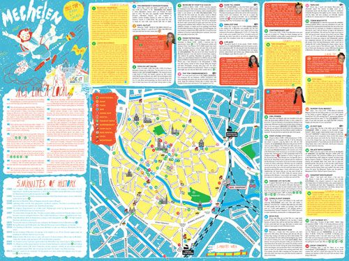 Download Mechelen City Map folder Pinterest