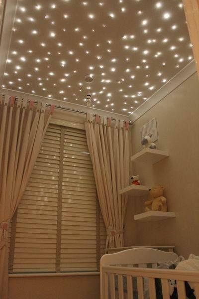 ミニプラネタリウムな赤ちゃん部屋 彡 デザイン 子供部屋 自宅で