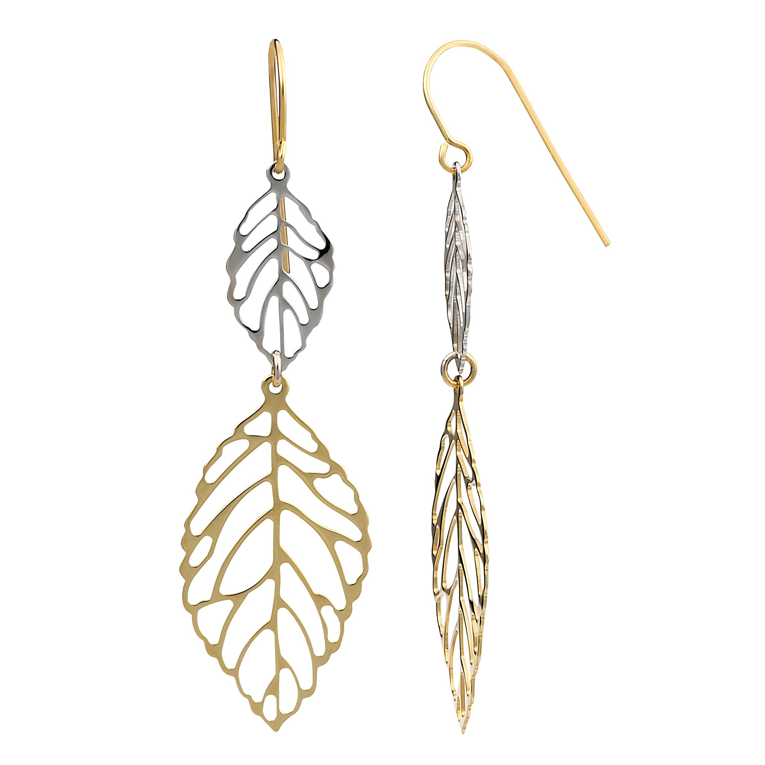 Online Shopping Bedding Furniture Electronics Jewelry Clothing More Drop Earrings Gold Earrings Dangle Gold Leaf Earrings