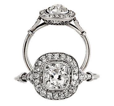Art deco diamond ring from Keshett :)